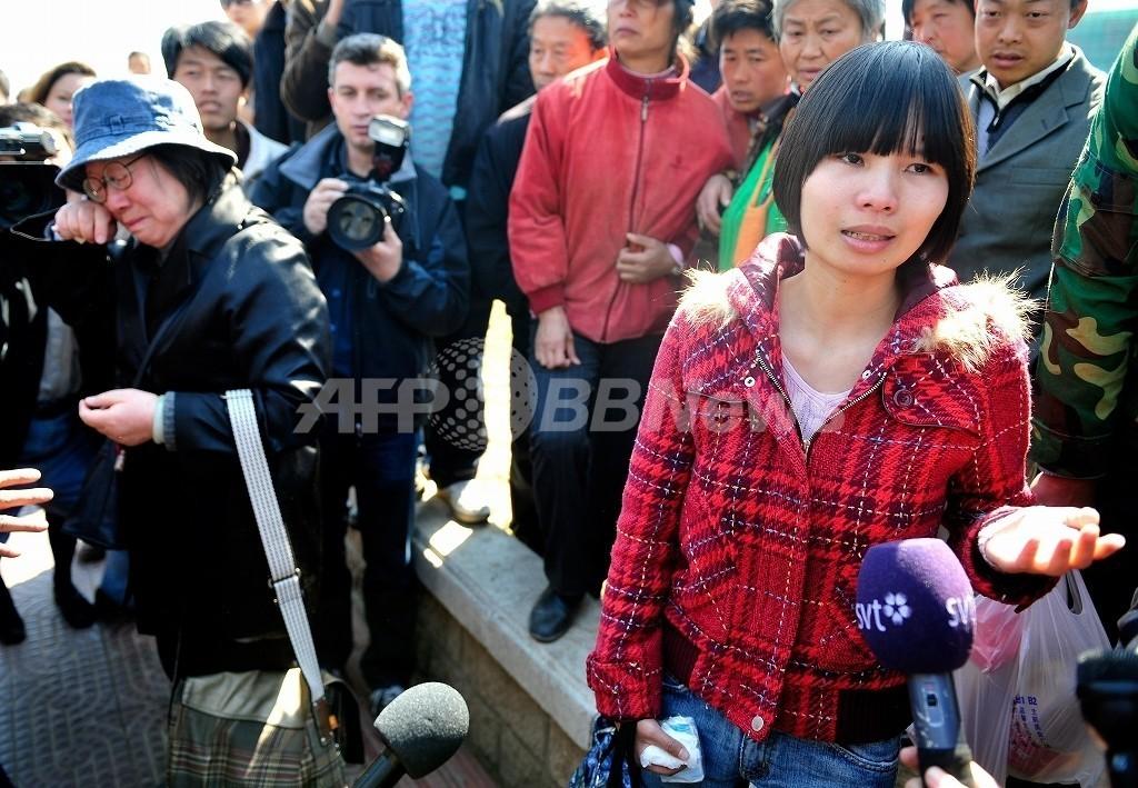 中国人活動家の妻と子ども拘束か、五輪直前から行方不明