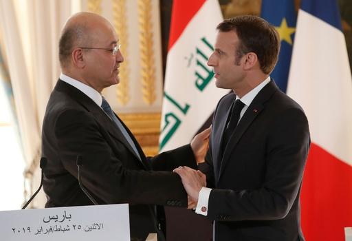 シリアで拘束、元IS戦闘員のフランス人13人 イラクで裁判へ