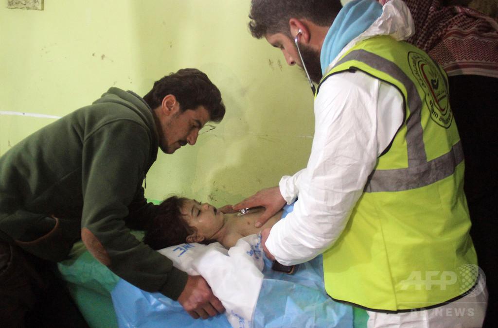 アサド政権がサリン攻撃を実施、国連の共同調査パネル
