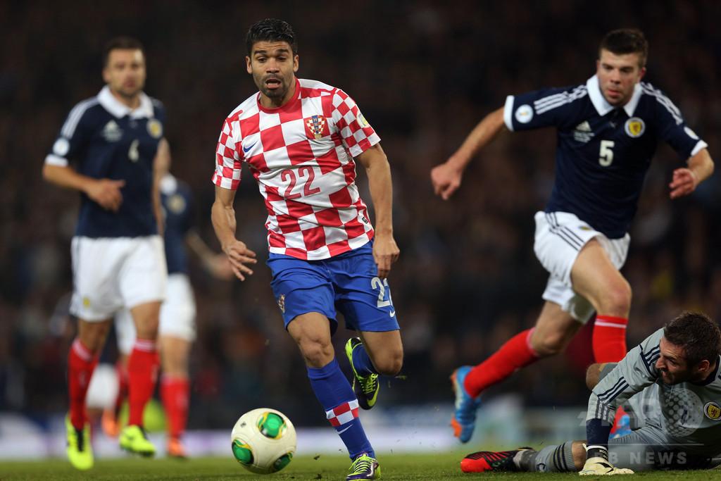ブラジル生まれのクロアチア代表、エドゥアルドが代表に別れ