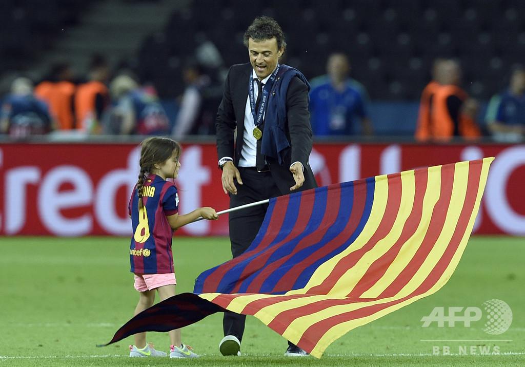 ルイス・エンリケ氏、9歳娘が骨肉腫で死去 スペイン代表前監督
