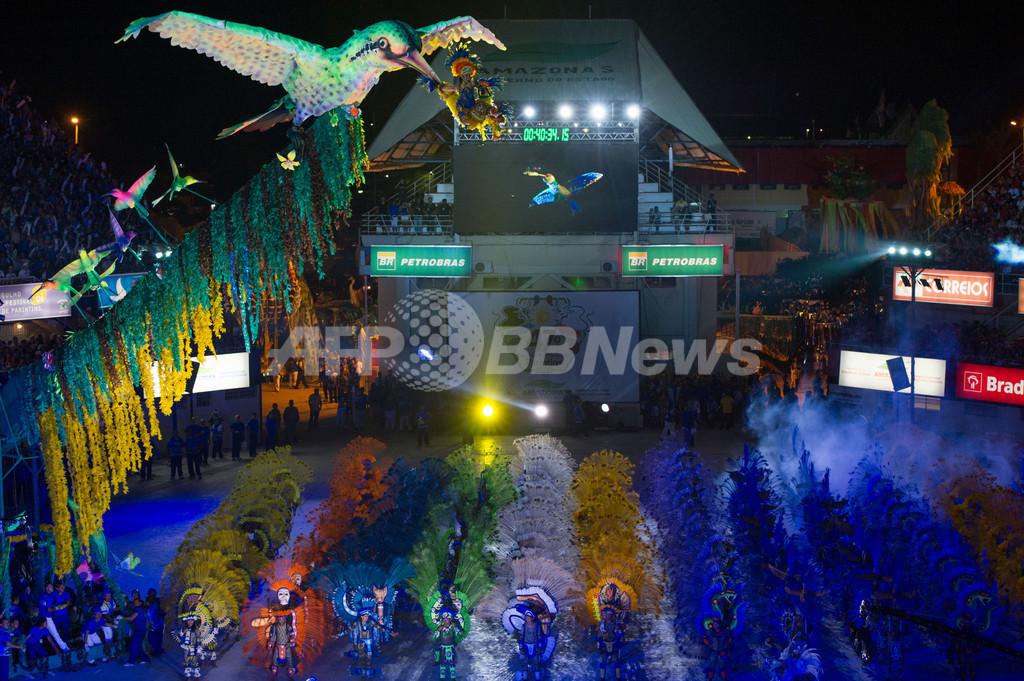 アマゾン伝統の祭典「ボイブンバ」、最大の野外オペラ ブラジル