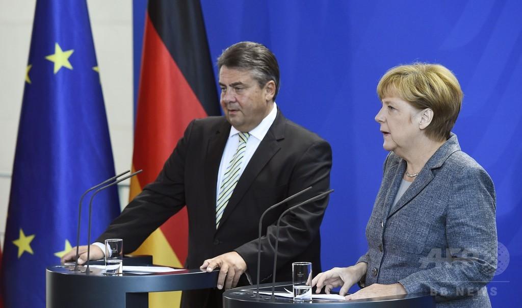 ドイツ、「年50万人の難民受け入れ可能」