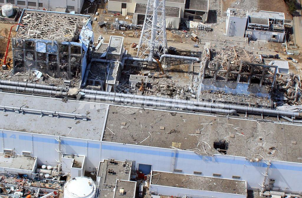 福島第1原発で東電社員2人の死亡を確認