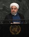 米大統領は「ならず者の新入り」 イラン大統領、国連で核合意擁護