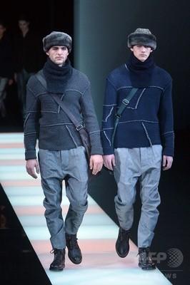 buy popular 8d7e0 e2012 マスキュリンで機能的に、「ジョルジオ アルマーニ」15/16年秋冬 ...
