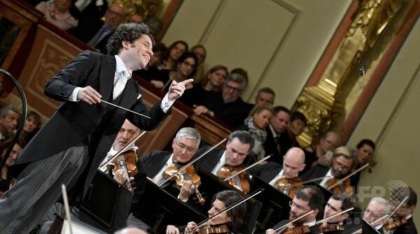 ウィーン・フィル新年コンサート、最年少グスターボ・ドゥダメル氏が指揮