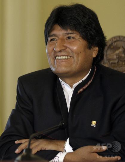 ボリビア大統領、引退後の夢は「バーベキューレストラン」