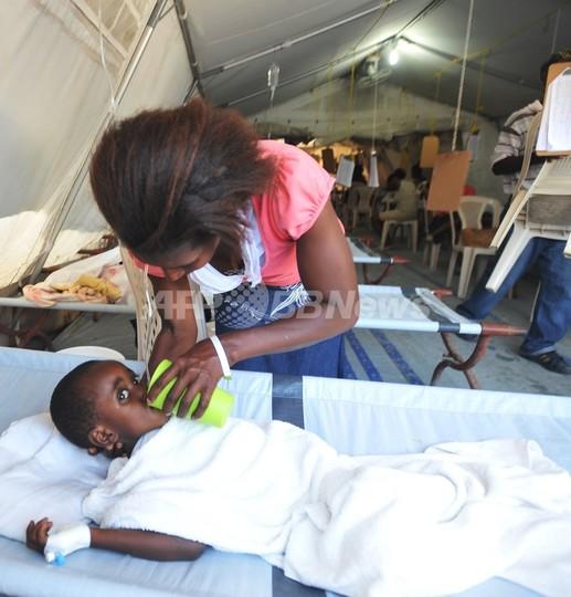 ハイチ・コレラ被害者ら、国連提訴も辞さず 補償期限提示