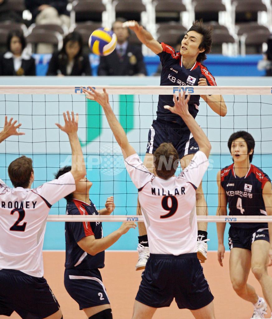 米国 韓国をストレートで破り5勝目