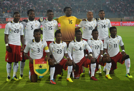 ガーナのW杯代表候補26人が決定