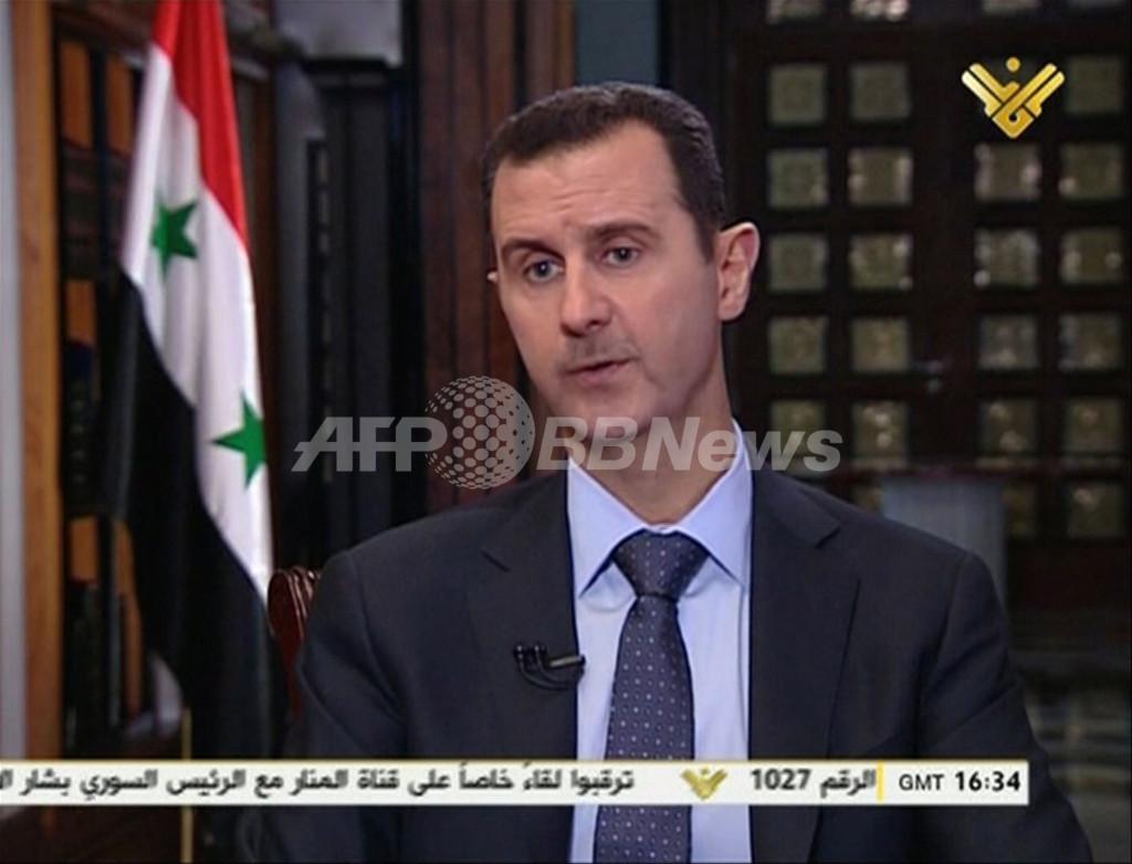 シリア大統領、対イスラエル戦線拡大を示唆 露ミサイル一部受領もほのめかす