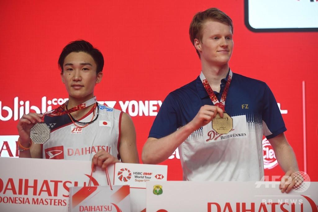 桃田がインドネシア・マスターズ決勝で破れる、女子複はタカマツが優勝