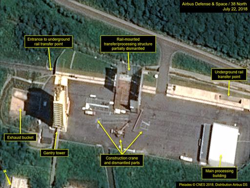 北朝鮮、再び「重大実験」を実施 西海衛星発射場で