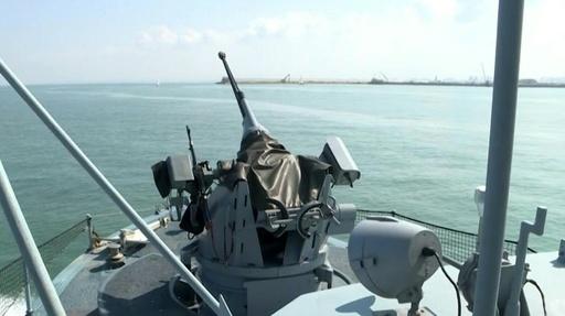 動画:イスラエル海軍、米仏などと大規模合同演習 「軍事大国」強調