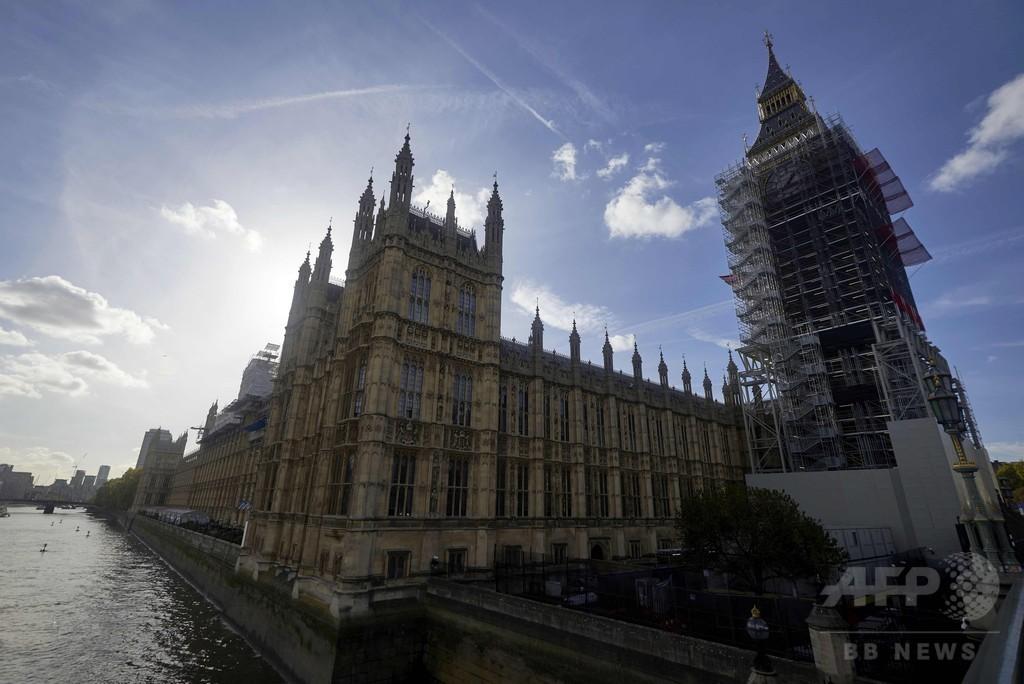 英ウェストミンスター宮殿に大火災リスク、黒杖官が警告