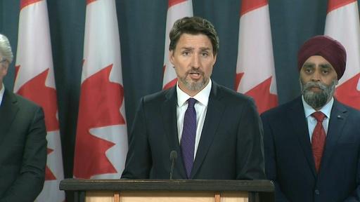 動画:旅客機はイランが撃墜 カナダ首相、情報入手と発表