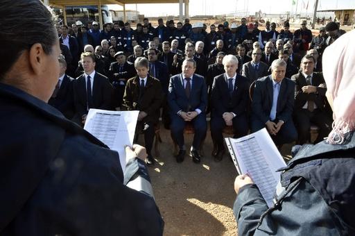 邦人も犠牲に、アルジェリア人質事件から5年 作業員らが追悼
