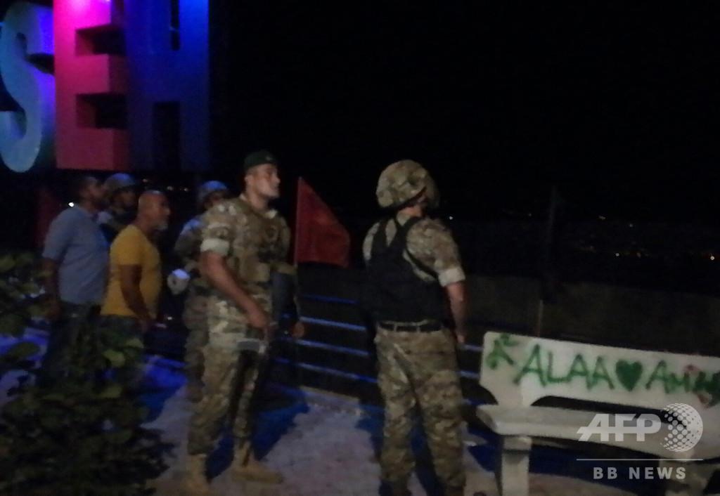 レバノン軍、南部国境付近でイスラエルのドローンに発砲