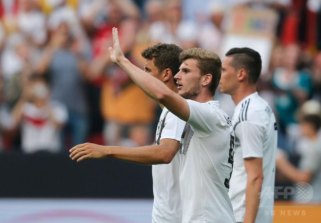 ドイツが6試合ぶりの白星、W杯前最後の試合でサウジを撃破