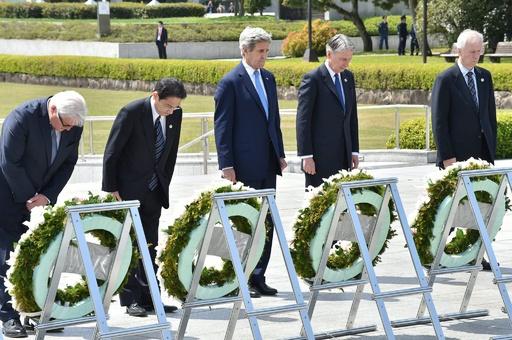 ケリー米国務長官が被爆地を訪問、「謝罪はしない」と米高官