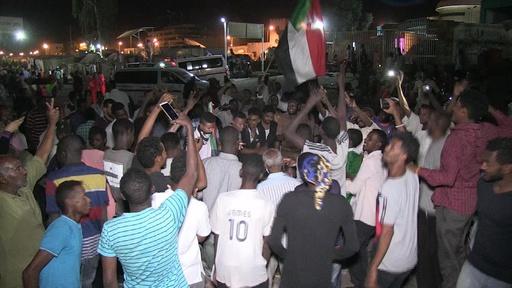 動画:民政移行期間3年で合意、スーダン軍事評議会とデモ指導者ら