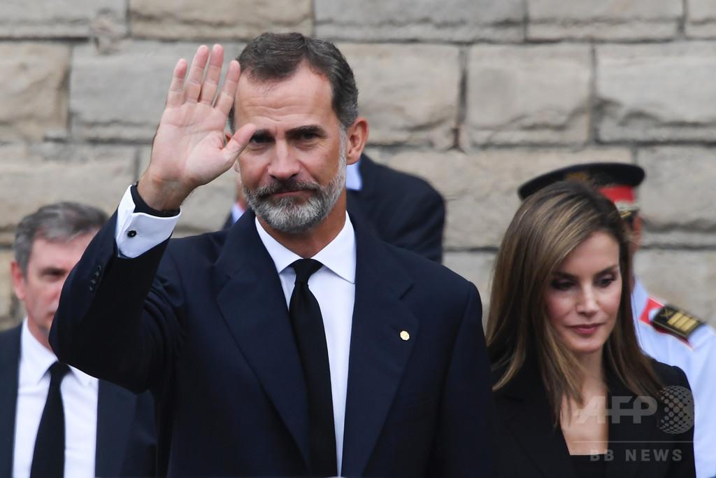 カタルーニャ問題、スペイン国王の演説は君主制を危うくした 専門家