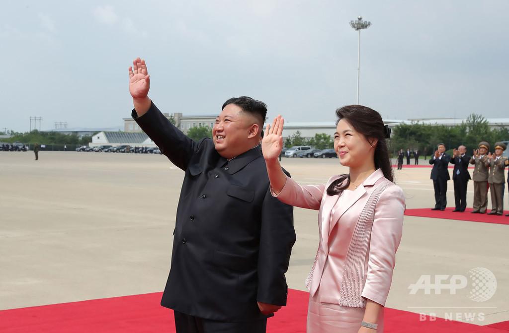 正恩氏妻を「わいせつ」に描いたビラ、北朝鮮が激怒の理由とロシア大使