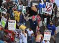 トランプ政権の入国禁止令、米控訴裁が一部施行認める