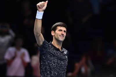 ジョコが完璧な勝ち上がりで準決勝へ、チリッチも一蹴 ATPファイナルズ