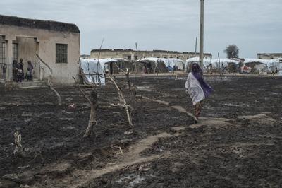 数日で3万人が隣国へ避難、ボコ・ハラムの攻撃恐れ ナイジェリア