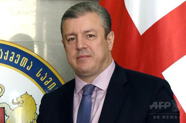 ジョージア新首相にクビリカシビリ氏