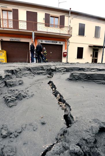12年伊地震、石油などの採掘が原因の一端 報告書