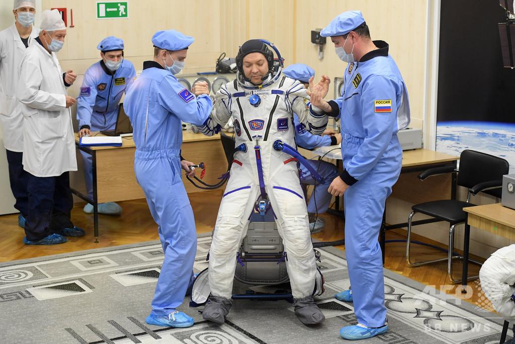 ロシア宇宙服の新デザイン 「放尿」の儀式できずに要変更?