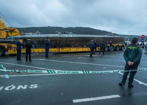 拿捕された全長20mの麻薬密輸用潜水艇、3人目の乗員逮捕 スペイン