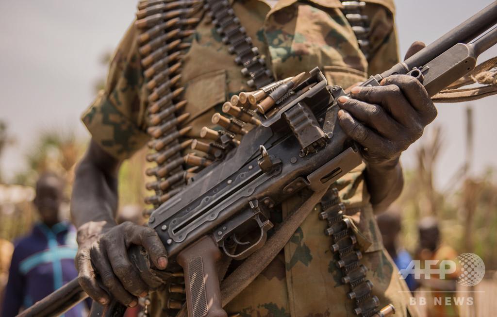南スーダン内戦死者、推定38万人超 シリアに匹敵、統計調査