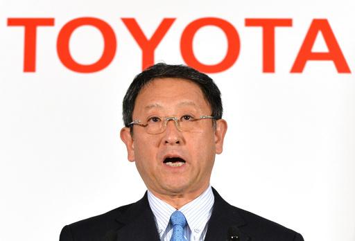 トヨタが決算発表、13年3月期は大幅回復 今期も増益見込む