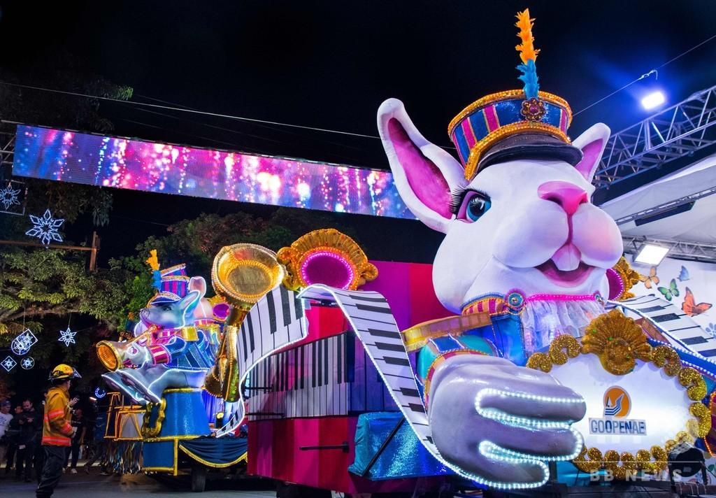 クリスマスを彩る光のパレード「ライト・フェスティバル」 コスタリカ