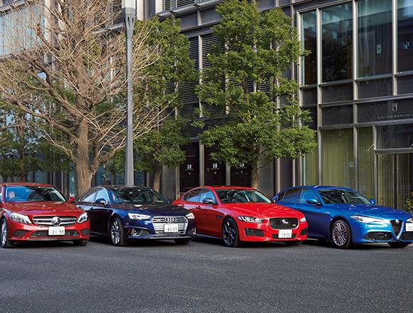 買いはどれ? BMW 3シリーズのライバルセダン4台に試乗/エンジン座談会2