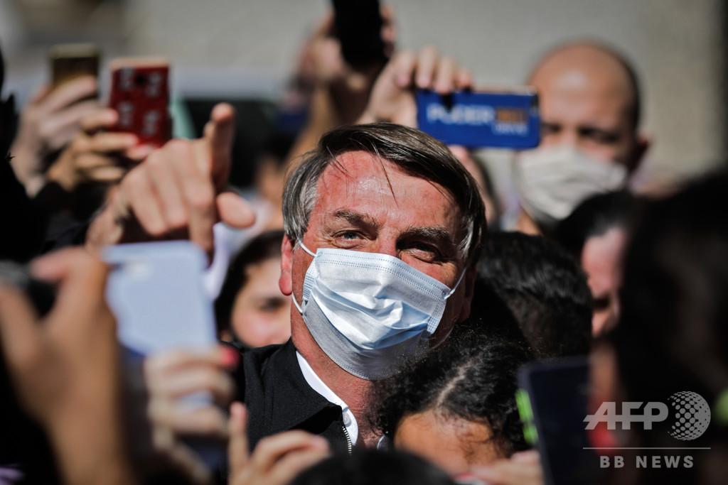 ブラジル大統領、ぼうこう結石手術無事に終了