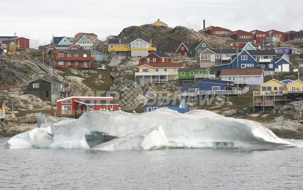気温2度上昇でグリーンランドの氷床が融解の危機、WWF