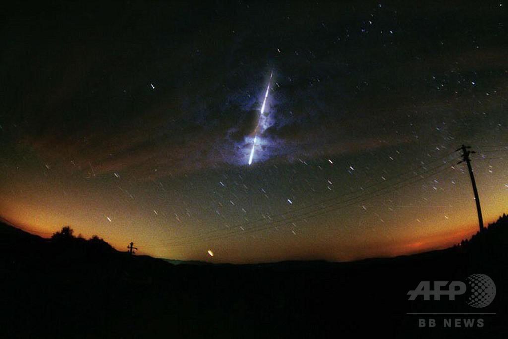 石切場から未知の隕石、4億7000万年前の衝突由来か 研究