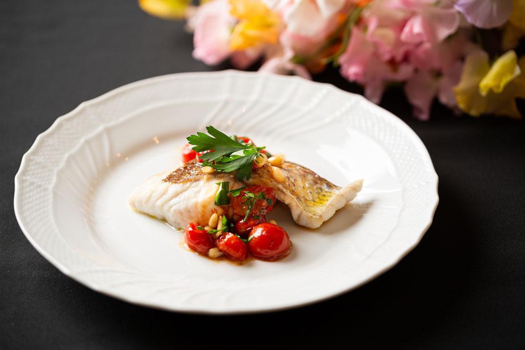 <お醤油レシピ>白身魚のムニエル フレッシュトマトソース