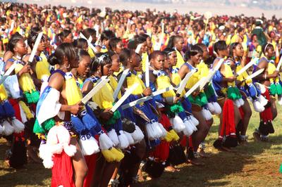 HIV感染率世界一のスワジランドで「処女ダンス」、問題視される舞台裏