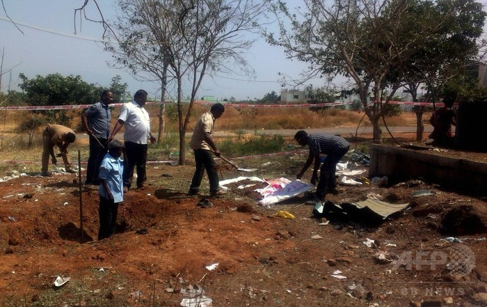 インドで4人死傷の爆発、NASAが「隕石」説を否定