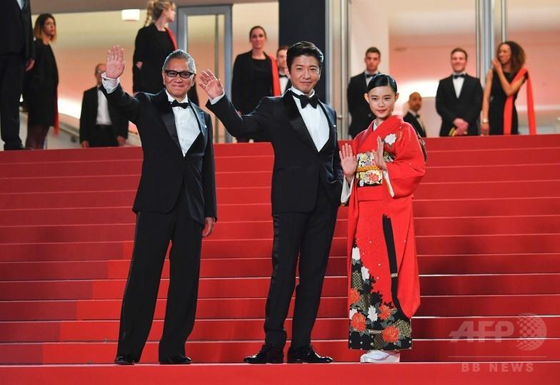 カンヌで『無限の住人』上映、レッドカーペットに主演の木村ら