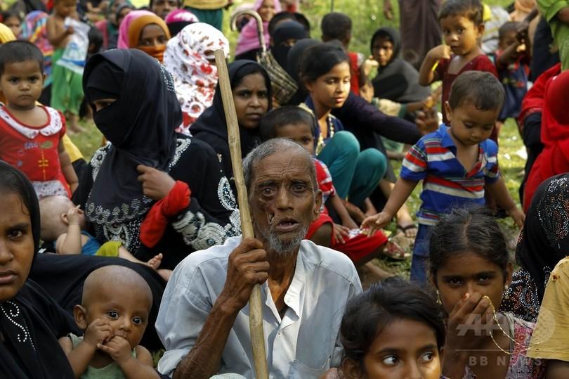 ミャンマー衝突、バングラへの避難者数が12万人超に 人道危機の恐れも