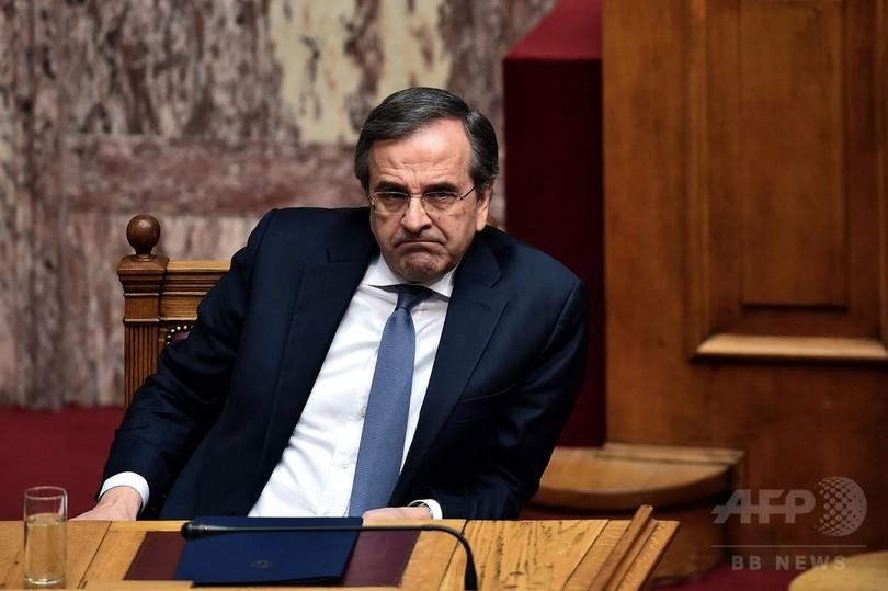 ギリシャ、大統領選出できず議会解散 来月総選挙へ