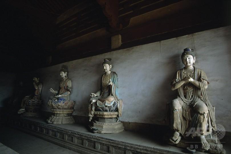 春夏秋冬、山奧の古刹(こさつ)を守る人 文化財数多く残る山西省