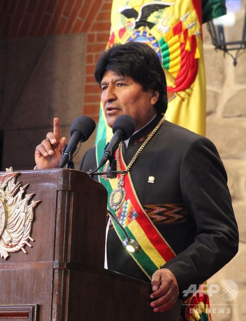 とんだ失態…ボリビア大統領のメダル、担当者が売春宿訪問中に盗難